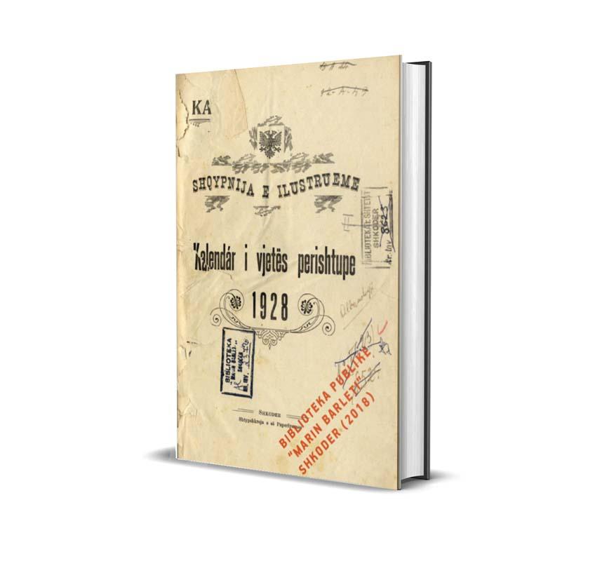 Kalendar i vjetës perishtupe - 1928