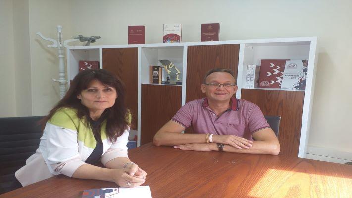 Takim në Qendrën e Botimeve për Diasporën me albanologun e Universitetit të Shën Petërburgut, Aleksandër Novik