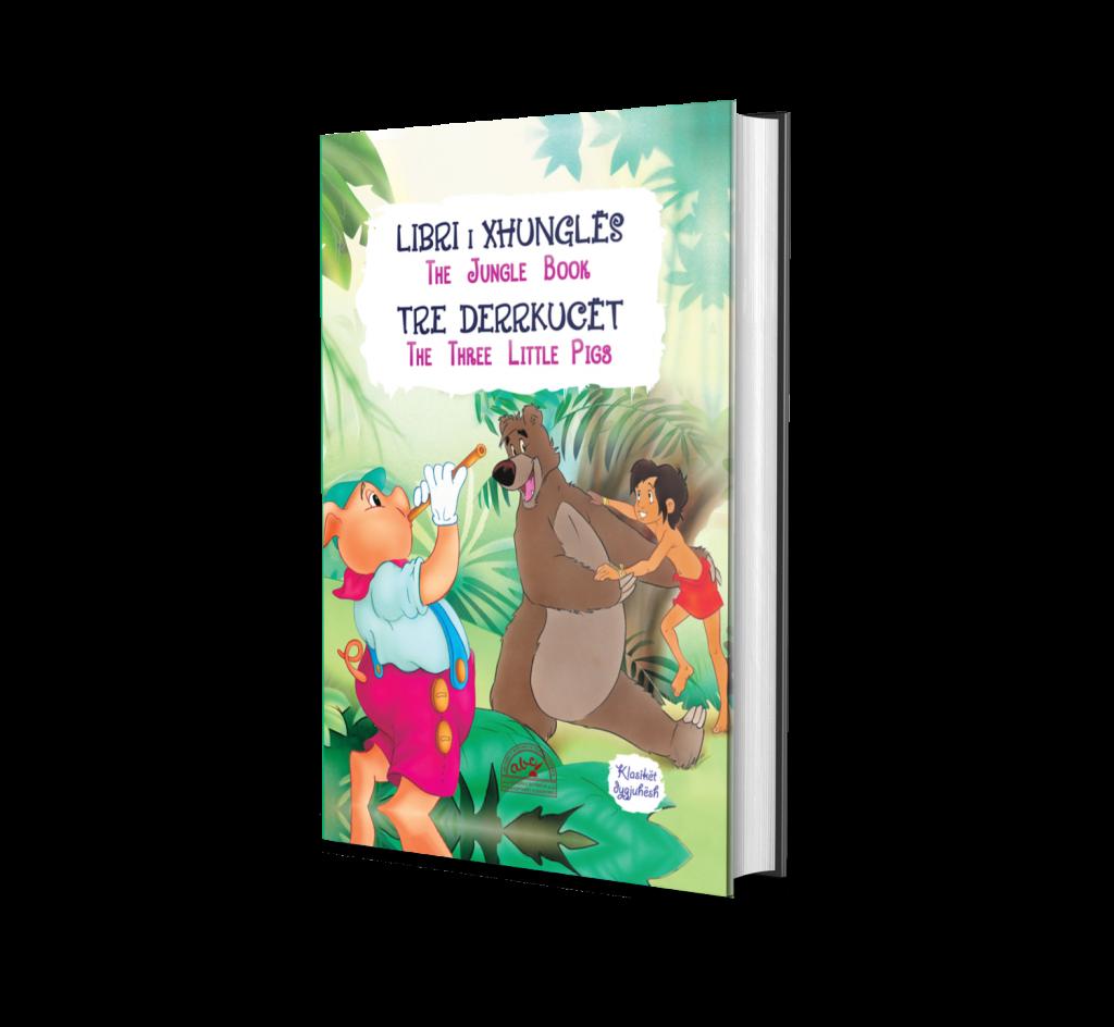 Libri i xhungles-3 derrkucet / Shqip - Anglisht